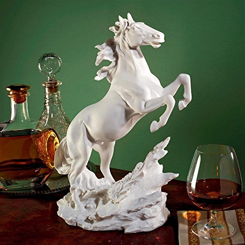 - Design Toscano Untamed Beauty Bonded Marble Horse Statue