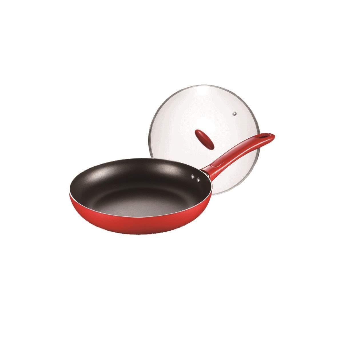 Hengtongtongxun Maifan Stone Steak Pot, Striped Frying Steak Special Pan, Non-Stick Frying Pan, Strong and Sturdy (Size : Maifan 26cm)