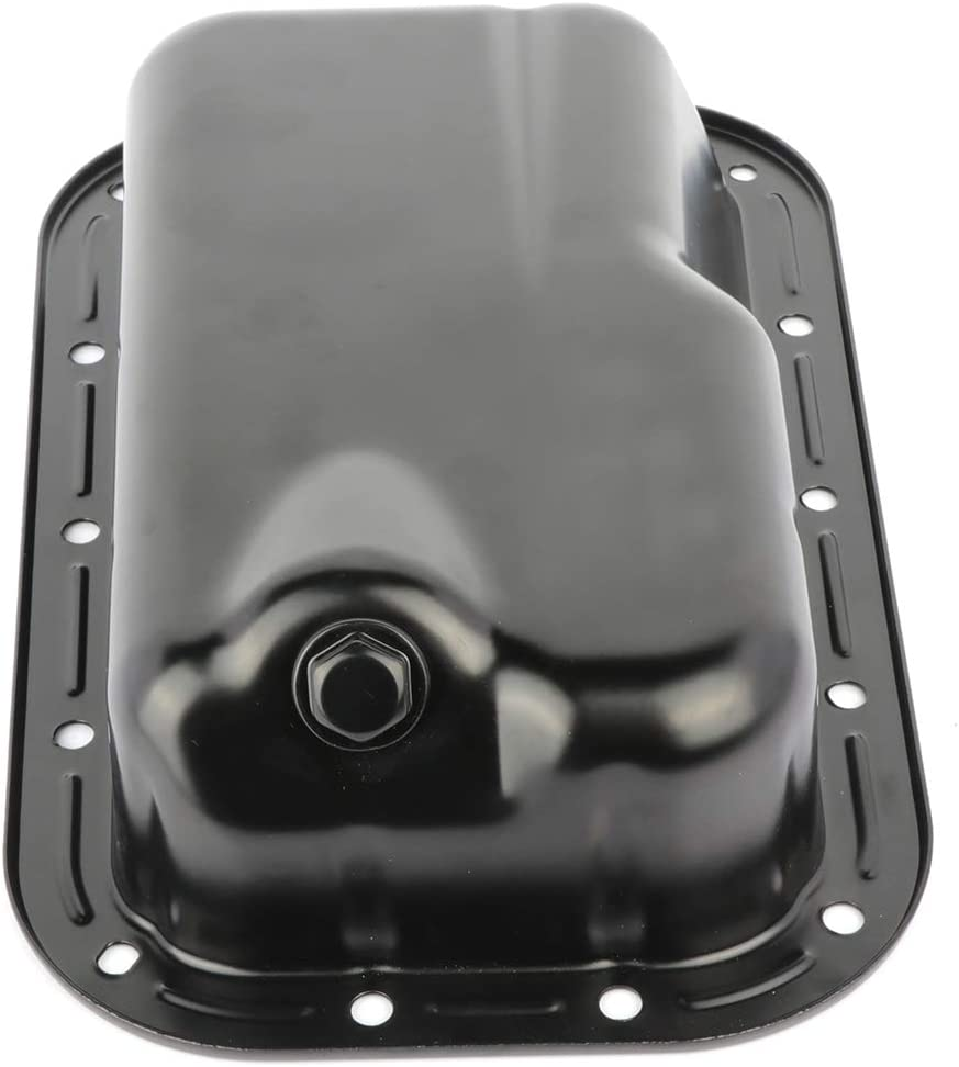 FEIPARTS Engine Oil Pan for 11-16 Chrysler 300 Dodge Challenger Charger Jeep Wrangler 3.6L OE Solutions 5184546AC 103410 Oil Drain Pan