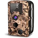 "AIMTOM Trail Hunting Camera 16MP 1080P HD 2.4"" LCD Screen 46Pcs IR LEDs 0.2S Trigger Waterproof Time Lapse Scouting Game Stealth Hunt Trap Cam Wildlife Observation Security Surveillance Monitor"