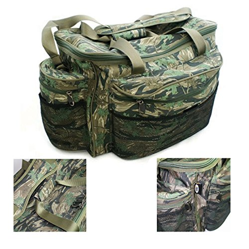 NGT Large Holdall Carryall Bag Smokey Branch Camo