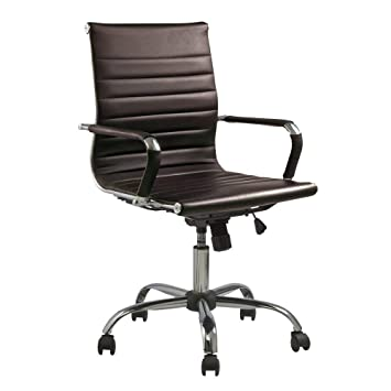 Stress Style Office Chair Eames Away Back Leather High Designer rBoCWdex