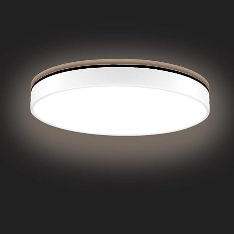 Sararoom LED Deckenlampe, Modern LED Deckenleuchte für Badezimmer,  Schlafzimmer, Küche, Balkon, Korridor, Büro, Wohnzimmer, 36W, 2100LM,  Ø50cm, ...