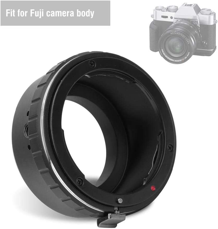 AI-FX Lens Adapter Ring Manual Focus AI-FX Lens Converters for Nikon AI Mount Lens to for Fuji FX Mirrorless Camera