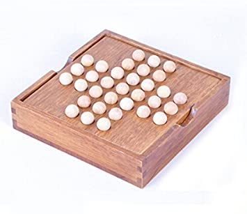 Buy Classic IQ Test Peg Solitaire Solo Noble Puzzles Single