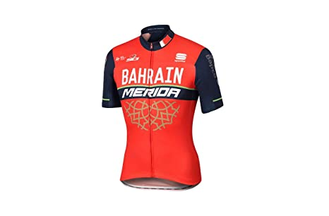 SPORTFUL Bahrain Merida Bodyfit Team Jersey  Amazon.it  Sport e ... 4c061f4e9