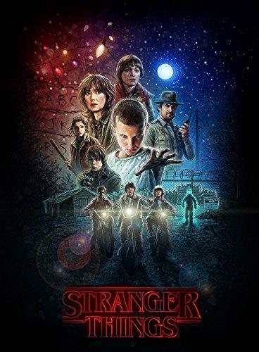 Stranger Things Poster 2016 Netflix Style B