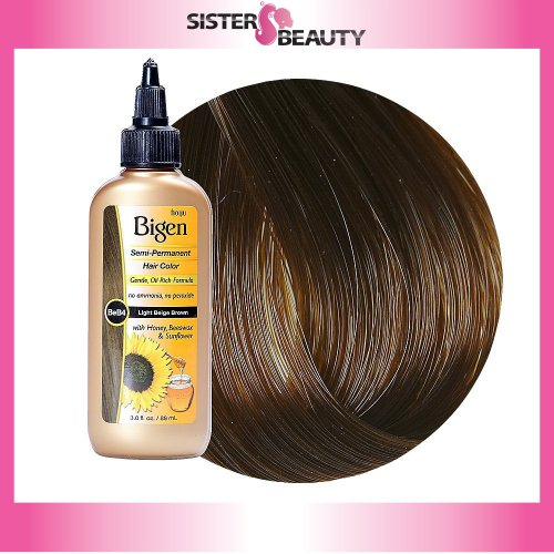 Bigen Semi-Permanent Haircolor #Lb4 Light Brown 3 Ounce
