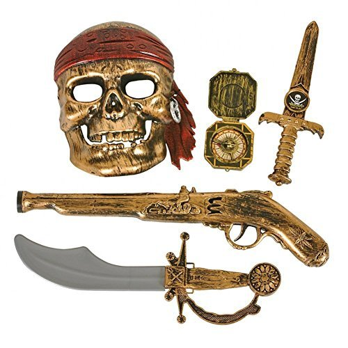 5-piece Pirate Accessories Set