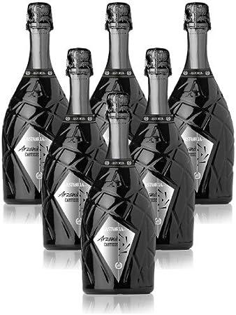 Arzanà Prosecco Superiore di Cartizze DOCG Vino Espumoso Italiano (6 botellas 75 cl.)