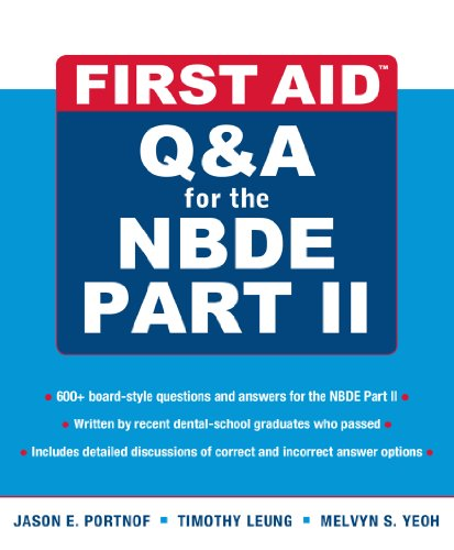 Download First Aid Q&A for the NBDE Part II (First Aid Series) Pdf