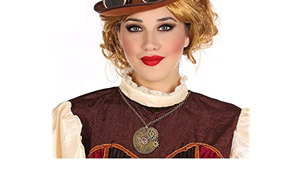 Atosa-56358 Atosa-56358-accesorio Disfraz Steampunk Collar Mujer ...