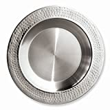 Stainless Steel 13.5 Hammered Charger Plate