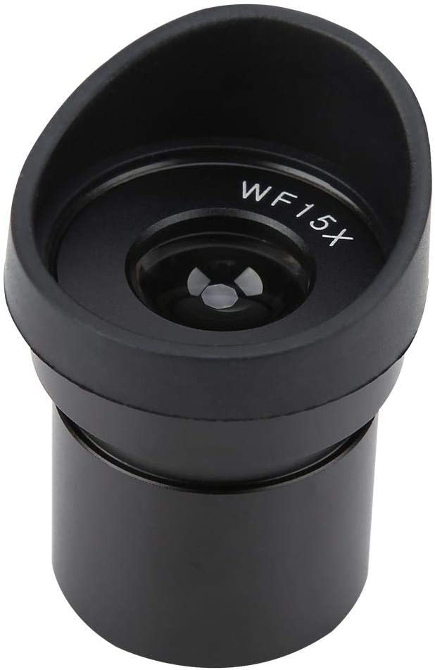 Nannday Wide-Angle Eyepiece WF15X//15 Wide Angle Eyepiece for Stereoscopic Microscope Ocular Lens Mounting 30.5mm