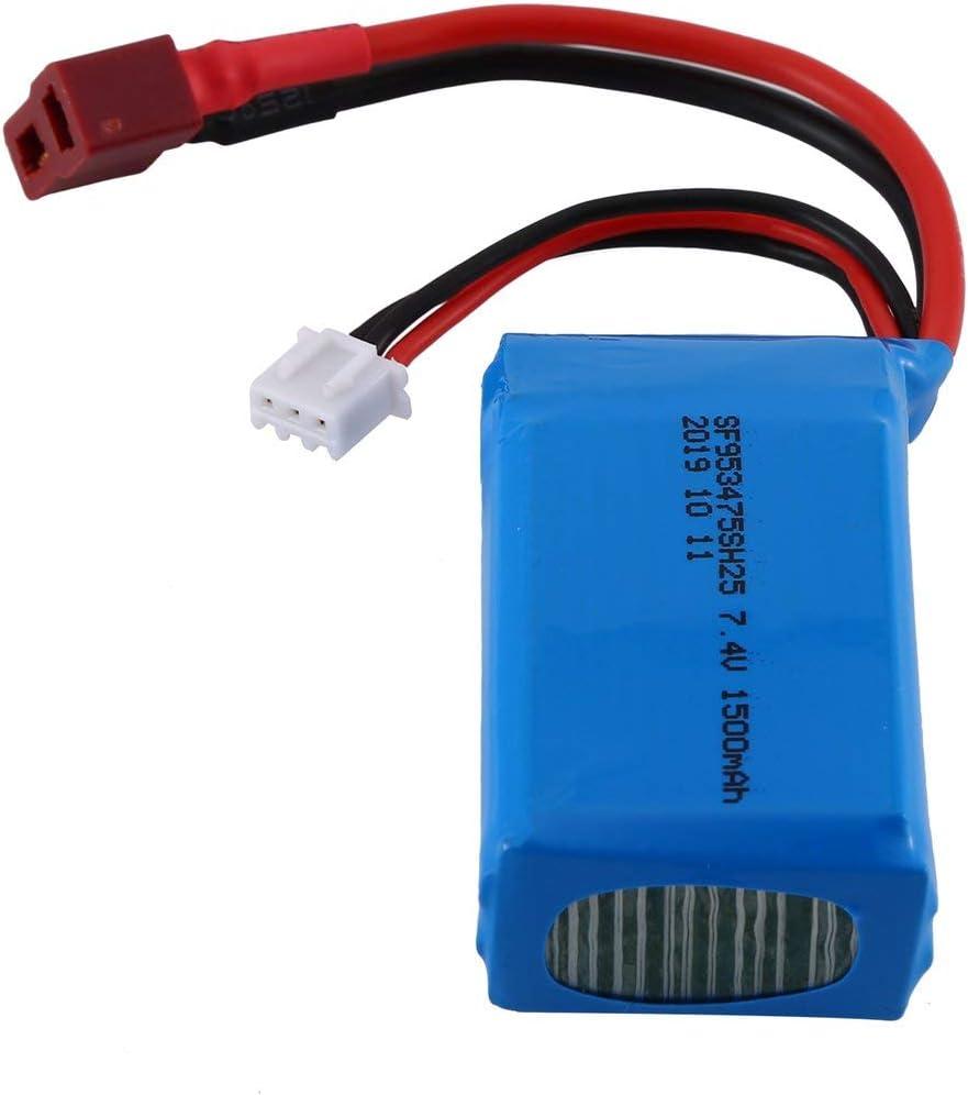 efaso A959-B-23 Li-Po Batterie 7,4V 1500mAh pour WL Toys A959-B,A969-B,A979-B
