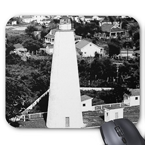- Zazzle Vintage Ocracoke Lighthouse Photograph Mouse Pad