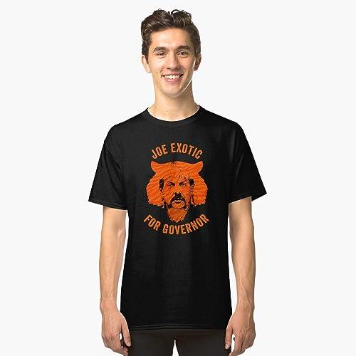 Amazon Com Joe Exotic For Governor Slim Fit T Shirt Handmade