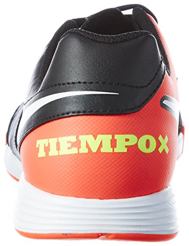 Tiempox Uomo hyper white Ic Ii Nike Da Leather Calcetto Orange Genio black volt Scarpe Nero d7xZqR8x