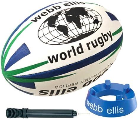 Webb Ellis - Pelota de Rugby (Principiante, tee, Talla 4, Pack de ...