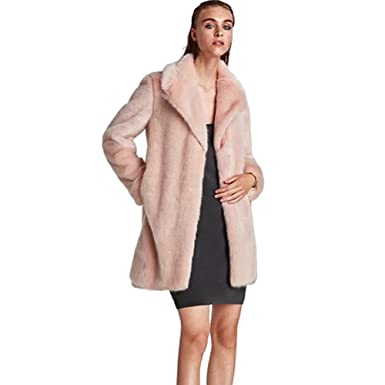 fe107ef6a3a1c Winter Women Coat Faux Ostrich Fur Coats Ladies Shaggy Coat Long Sleeve  Fluffy Turkey Feather Fourrure