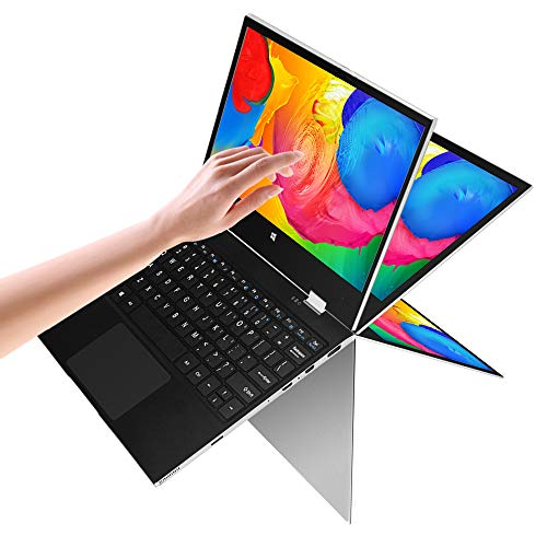 🥇 2 in 1 Laptop jumper x1 Windows 10 Laptop FHD Touchscreen Display Laptop Computer 11.6 inch 6GB RAM 128GB ROM