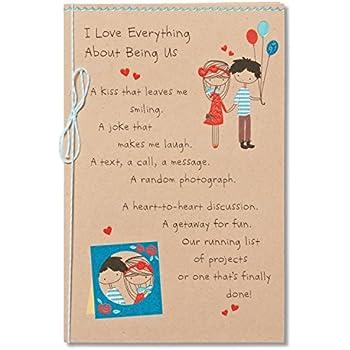 Amazon Hallmark Birthday Card For Husband Brown And Blue