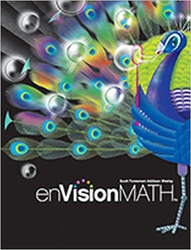 EnVision MATH Grade 5 9780328489749 Scott