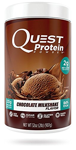 Quest Nutrition Protein Powder, Chocolate Milkshake, 2lb Tub, Packaging May Vary (Nutrition Protein Shake)