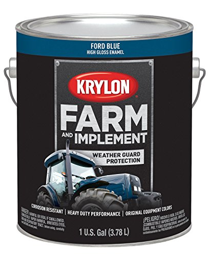 (Krylon 1967 Krylon Farm & Implement Paints Ford Blue 128 oz. Gallon w/Solvent Base Krylon Farm & Implement Paints)