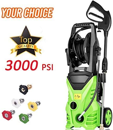 Homdox Electric High Pressure Washer 3000PSI 1.8GPM Power Pressure Washer Machine 1800W