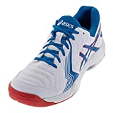 ASICS Men's Gel-Game 6 White/Race Blue 10.5 D US