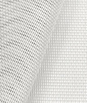 Phifertex Standard Solids - White Fabric - by the Yard