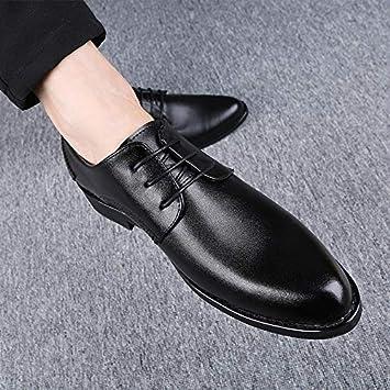 AIMENGA Zapatos para Hombres Zapatos De Vestir Vestido para ...