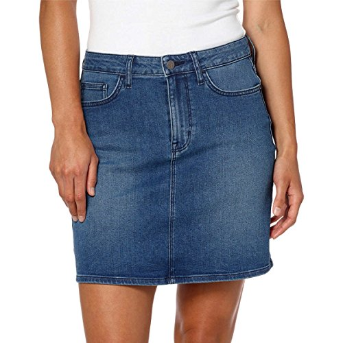 - Calvin Klein Women's Denim Mini Jean Skirt (Moonlight Dusk, 6)