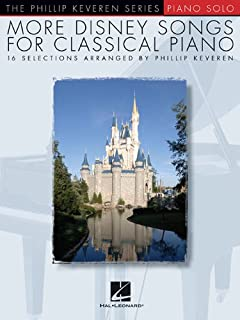 Book Cover: More Disney Songs For Classical Piano - The Phillip Keveren Series