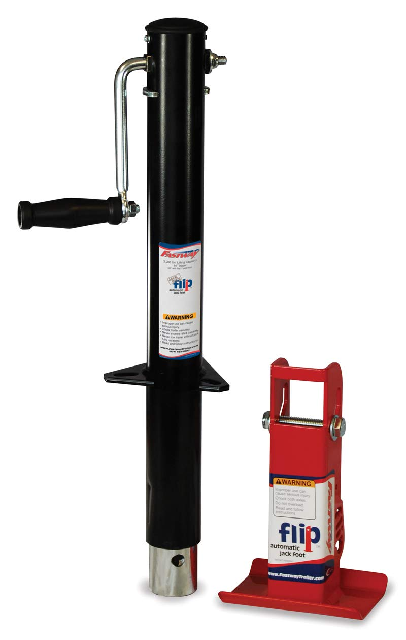 Fastway 2 1/4 Inch Side Wind Jack with FLIP 88-00-6265 by Fastway