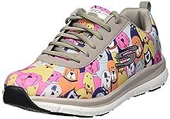 Skechers for Work women's comfort flex hc pro sr health care and food service shoe,