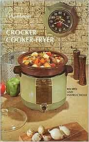 sunbeam slow cooker instruction booklet