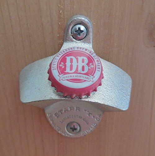 Devils Backbone Cap Starr X Wall Mount Bottle Opener Pink Cap