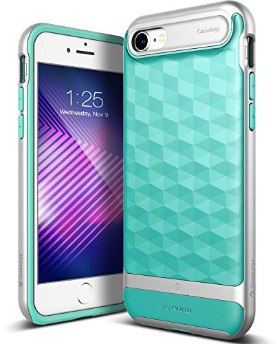 Caseology Parallax for iPhone 8 Case (2017) / iPhone 7 Case (2016) - Award Winning Design - Mint Gre - http://coolthings.us