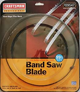 Band Saw Blade 1 4 6 Teeth Per Inch 99 3 4 Long For 14
