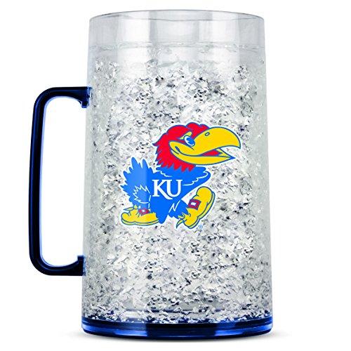 NCAA Kansas Jayhawks 38oz Crystal Freezer Monster Mug ()