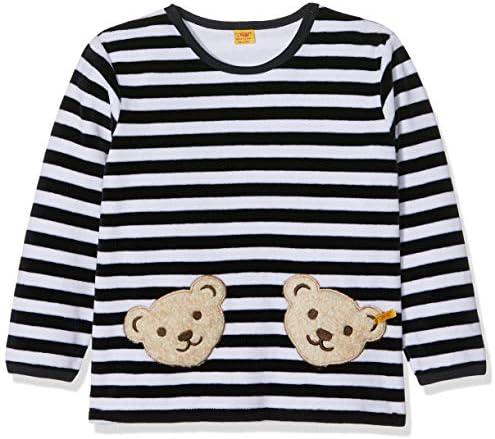 Steiff Unisex Baby Doppelbären Shirt Sweatshirt