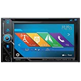 Clarion NX405 2-Din DVD Multimedia Station with Built-In Navigation and 6-Inch Touch Panel Control