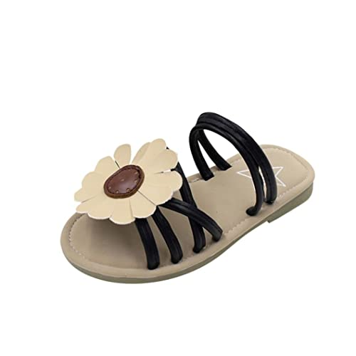 94bf0eb1f85f Goodtrade8 Toddler Baby Girl Sunflower Sandals Strappy Slipper Shoes Casual  Beach Sneaker (Age 3.5