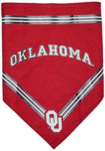 Oklahoma Dog Pet Football Jersey (Collegiate Oklahoma Sooners Pet Bandana, Small - Dog Bandana must-have for Birthdays, Parties, Sports Games etc..)