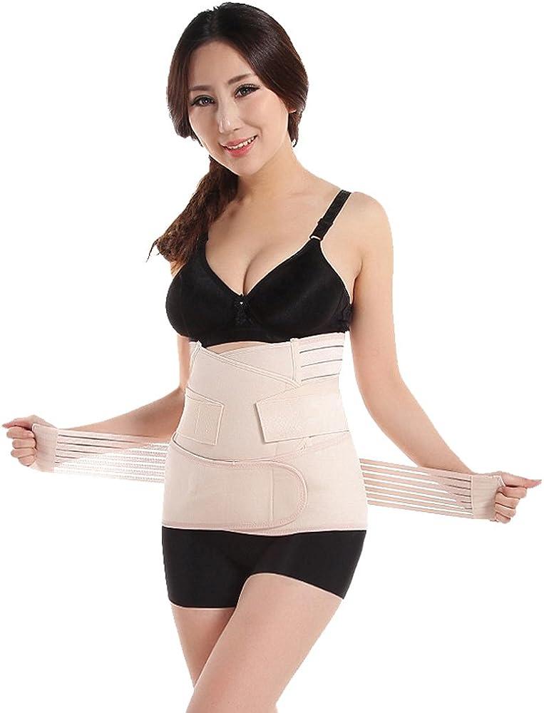 XFentech Postpartum Support Recovery Waist Belly Belt Recovery Belt Postnatal Shapewear Body Shaper