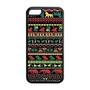 5C Phone Cases, Hakuna Matata Hard TPU Rubber Cover Case for iPhone 5C