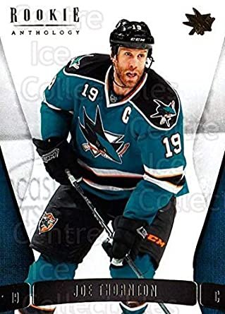 Amazoncom Ci Joe Thornton Hockey Card 2011 12 Panini Rookie