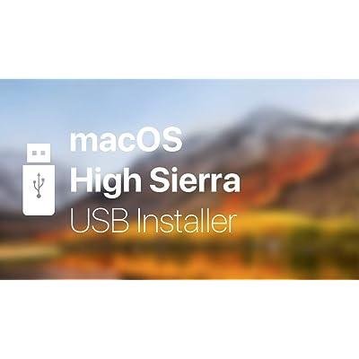 OS X HIGH SIERRA SIERRA 10.13 Bootable USB Installation install repair upgrage for Macbook Pro, Mac Mini, iMac …